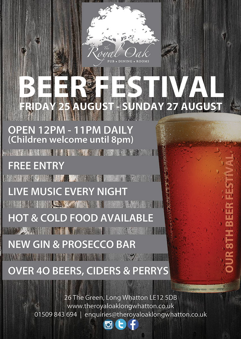 Beer Festival Advert