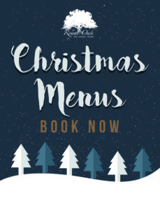 Christmas Menu Advert